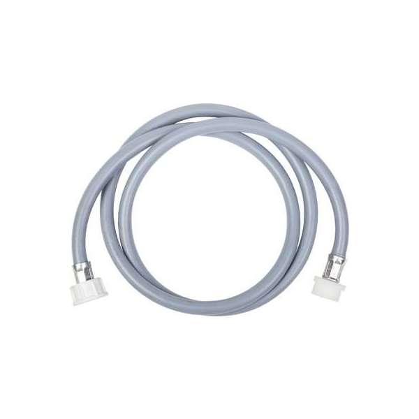 Flexible d'alimentation de machine à laver - 150 cm - caoutchouc - sortie droite - Sélection Cazabox