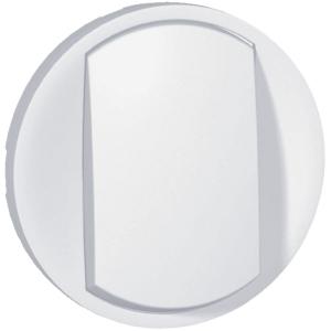 Enjoliveur blanc - Interrupteur simple - Céliane - Legrand