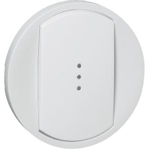 Enjoliveur blanc - Interrupteur à voyant - Céliane - Legrand
