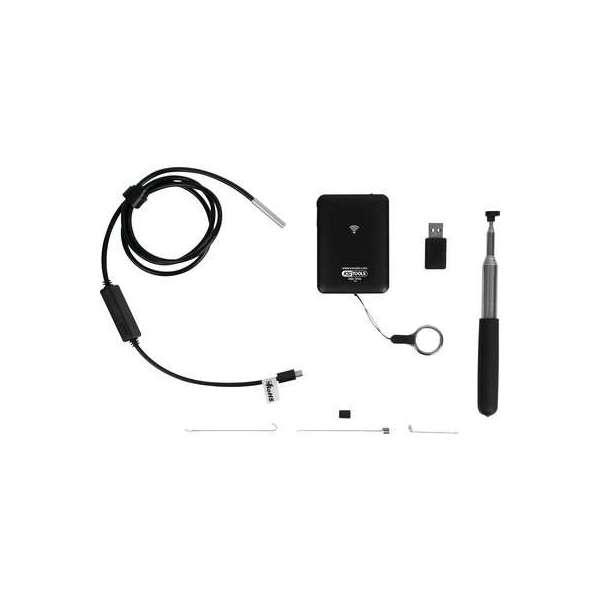 Caméra d'inspection wifi avec sonde Ø 5,5 mm - 8 pièces - KS Tools
