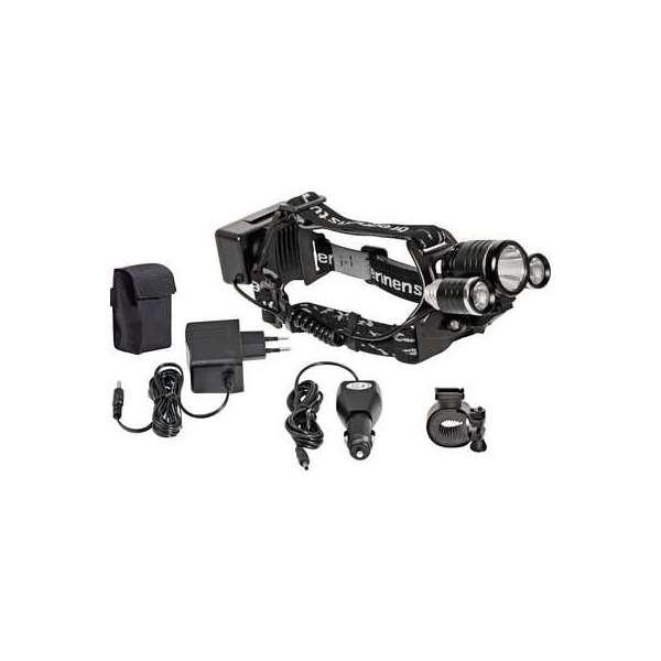 Lampe frontale rechargeable - 650 lm - 10 W - Portée d'éclairage 300 m - IP44 - Brennenstuhl