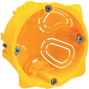 Boîte d'encastrement cloison sèche - Ø 67 x 40 mm - 1 poste - Batibox - Legrand