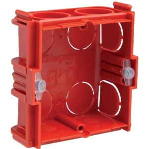 Boîte d'encastrement maçonnerie - 71 x 71 x 30 mm - 1 poste - Batibox - Legrand