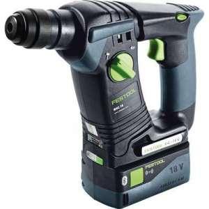 Perforateur sans fil BHC 18 Li 5,2 I-Plus - 18 V - Capacité batterie 5,2 Ah - Festool