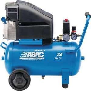 Compresseur à piston Pro pole position L25P - Abac - 24 litres - Abac