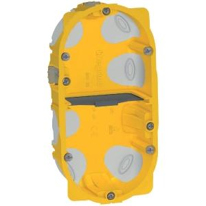 Boîte d'encastrement Batibox Energy 2 postes - Legrand