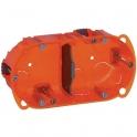 Boîte d'encastrement Batibox multimatériaux 2 postes - Legrand