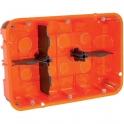 Boîte d'encastrement Batibox multimatériaux 2 x 3 postes - Legrand