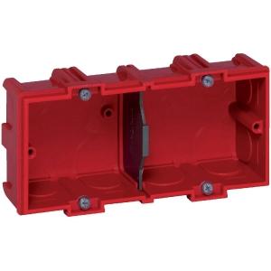 Boîte d'encastrement Batibox pour maçonnerie 2 postes - Legrand