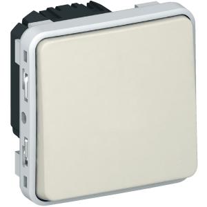 Interrupteur va et vient blanc composable - Plexo - Legrand