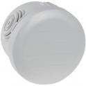 Boîte grise ronde - Ø 60 x 40 mm - 4 embouts - Couvercle enclipsable - Plexo - Legrand