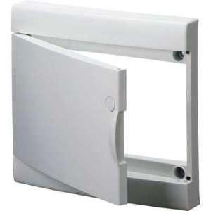 Porte blanche pour coffret de répartition standard