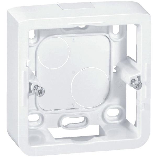Cadre saillie blanc - 30 mm - 2 modules - Mosaic - Legrand