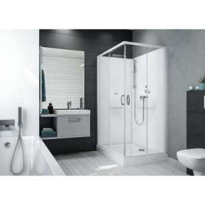 Cabine de douche Izi Box2 - Rectangle - Portes coulissantes
