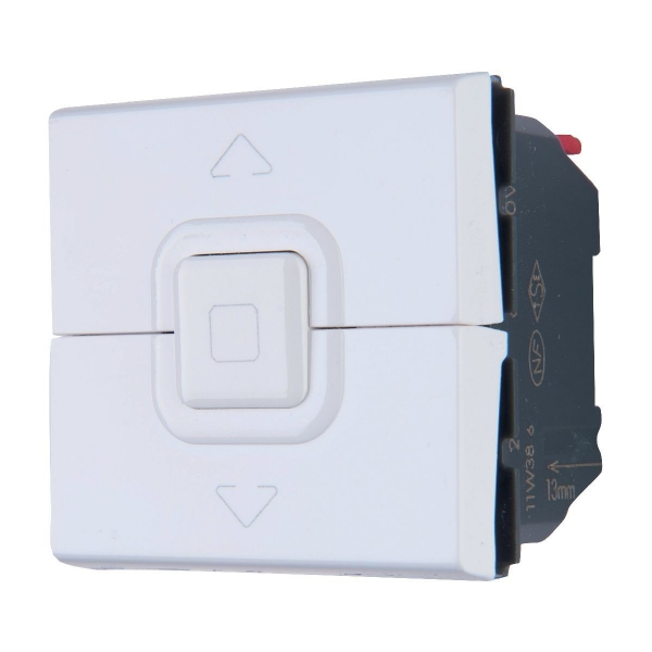 interrupteur volet roulant mosaic legrand cazabox. Black Bedroom Furniture Sets. Home Design Ideas