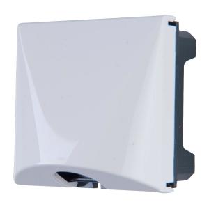 Sortie de câble blanc Mosaïc - 2 modules - Legrand