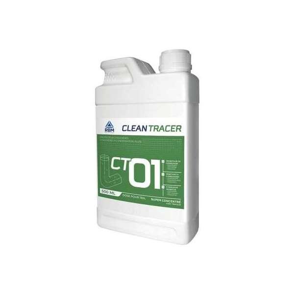 Anticorrosif protecteur chaudière CT01 - Bidon 500 ml - RBM