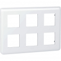 Plaque pour 2 x 3 x 2 modules Mosaic - Legrand
