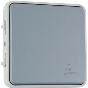 Poussoir NO Plexo composable IP 55 - Legrand