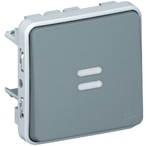 Va et vient lumineux Plexo composable IP 55 - Legrand