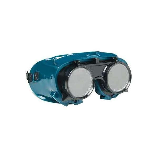 Lunette de soudeur PVC bleu-Vert - Sélection Cazabox