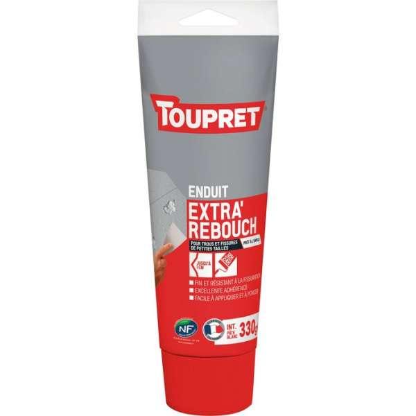 Enduit pâte blanc extra'rebouch - Tube 330 g - Toupret