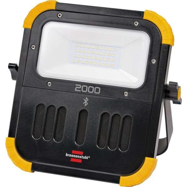 Projecteur LED rechargeable Bluetooth Blumo - 20 W - 2100 lm - Brennenstuhl