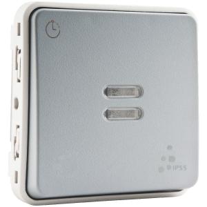 Interrupteur temporisé Plexo composable IP 55 - Legrand