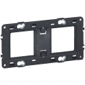 Support Batibox 2 x 2 modules - Legrand