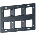 Support Batibox 2 x 3 x 2 modules - Legrand