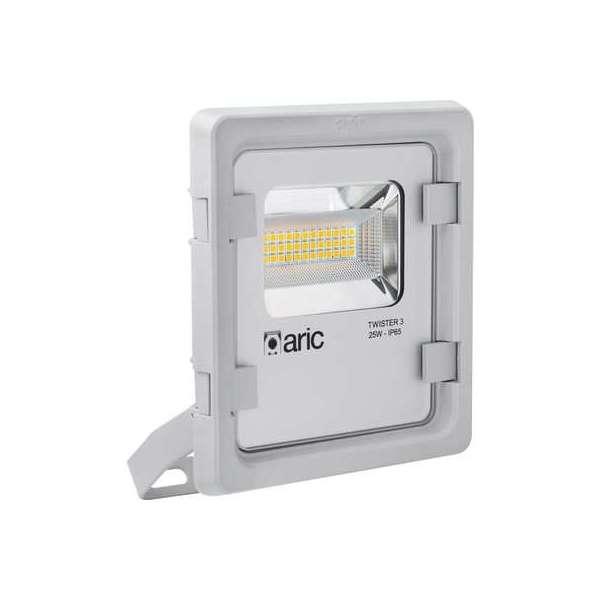 Projecteur LED gris Twister 3 - 25 W - 3000 K - Aric