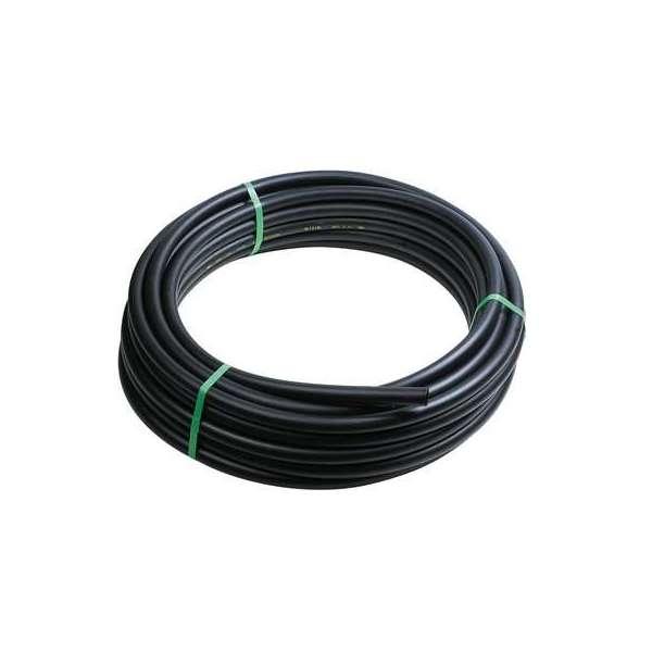 Tuyau PE noir basse densité - Ø 20 mm - non alimentaire - Coronne de 100 m - Cap Vert