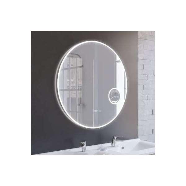 Miroir rond avec éclairage LED Rondinara - Ø 80 cm - Creazur