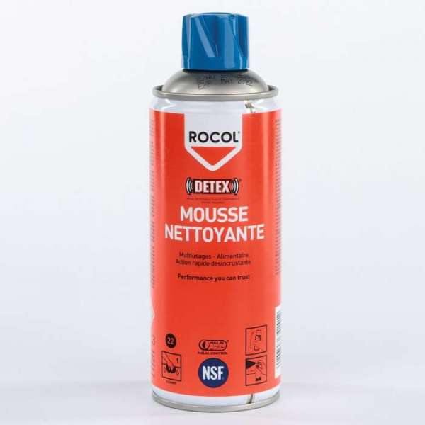 Mousse nettoyante multi-usages - Spray de 520 ml - Rocol