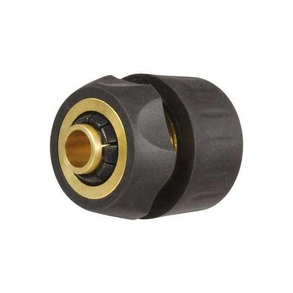 Raccord rapide d'arrosage bi-matière Rubbery - Tuyau Ø 15 mm - Cap Vert