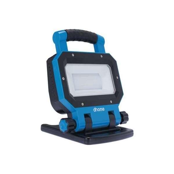 Projecteur LED rechargeable Erös - 30 W - 3000 lm - 5000 K - Dhome