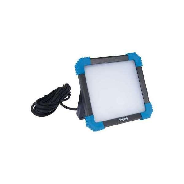 Projecteur LED sur secteur Lekki - 30 W - 2500 lm - 5000 K - Dhome