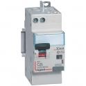 Disjoncteur différentiel DX³ 4500 - 6 kA courbe C - 40 A - Sensibilité 300 mA - 2 modules - Connexion vis / auto - Legrand