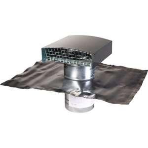 Sortie de toit finition ardoise - Pour VMC double flux - Anjos