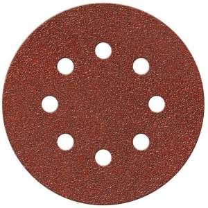 Disque papier auto-agrippant 8 trous - Ø 125 mm - Grain 40 - Lot de 10 - SCID