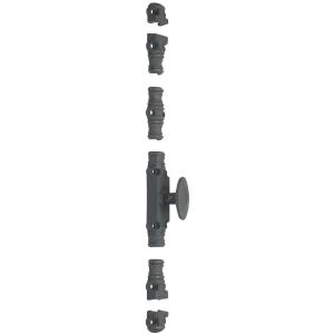 Crémone à bouton série renforcée - type RY 59 - Jardinier massard