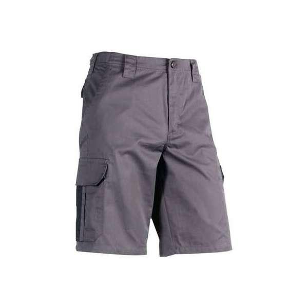 Short de travail gris / noir Tyrus - Taille 50 - Herock