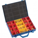 Assortiment de bagues - Pour paumelle - Coffret de 311 pièces - Sélection Cazabox