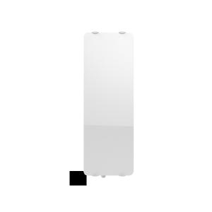 """Radiateur à inertie sèche en verre - Etroit Vertical - CAMPAVER ULTIME 3.0 Smart ECOcontrol® - 1600 W - Reflet """"miroir""""  - Campa"""