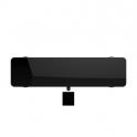 Radiateur à inertie sèche en verre - Plinthe - CAMPAVER ULTIME 3.0 Smart ECOcontrol® - 900 W - Noir astrakan - Campa
