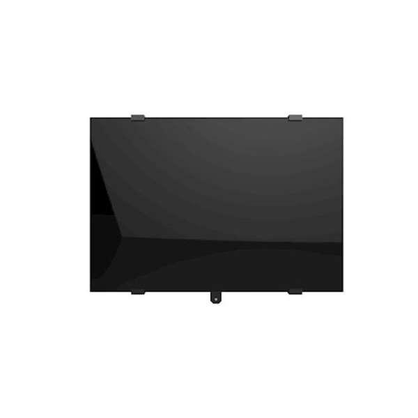 Radiateur à inertie sèche en verre - Horizontal - CAMPAVER SELECT 3.0 Smart ECOcontrol® - 1000 W - Noir astrakan - Campa