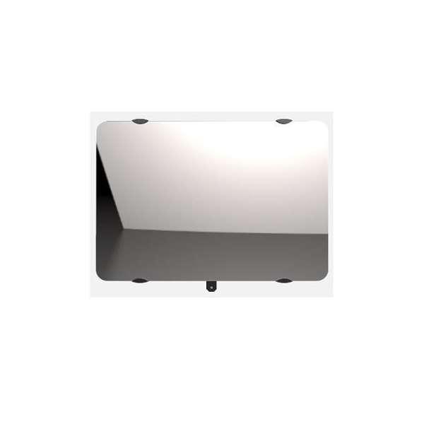Radiateur à inertie sèche en verre - Horizontal - CAMPAVER SELECT 3.0 Smart ECOcontrol® - 1000 W - Reflet 'miroir' - Campa
