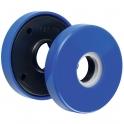 Rosace ronde bleue - Bec de cane - ZD92F - Vendu par 2 - Normbau