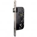 Serrure à larder époxy noire à fouillot - Bec de cane - Axe à 50 mm - Série T4137 - Tesa