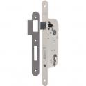 Serrure à larder acier blanc à fouillot - Clé I - Axe à 40 mm - Confort - Thirard